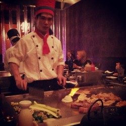 Good times at Koto! #hibachi  (at Koto Japanese Restaurant)