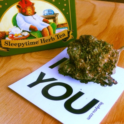 Have some #herb tea as a #nightcap A cup of some good ol' #cannabistea would taste so good with some honey! #budlove #weed #high #maryjane #marijuana #puffpuffpass
