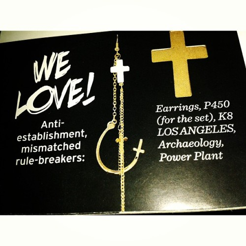 #K8LA #mismatched #earring set in @previewthestylebible | #fashion #accessories  (at Rockwell Powerplant Mall, Makati)