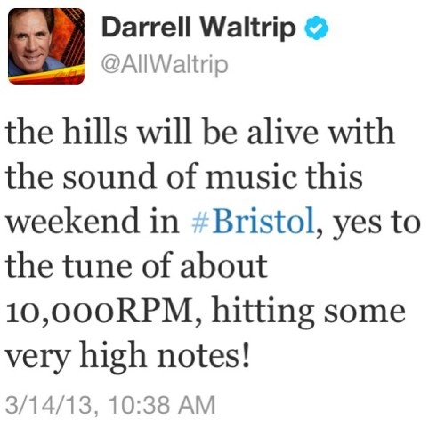 daleduke:  The excitement is building #bristol #nascar