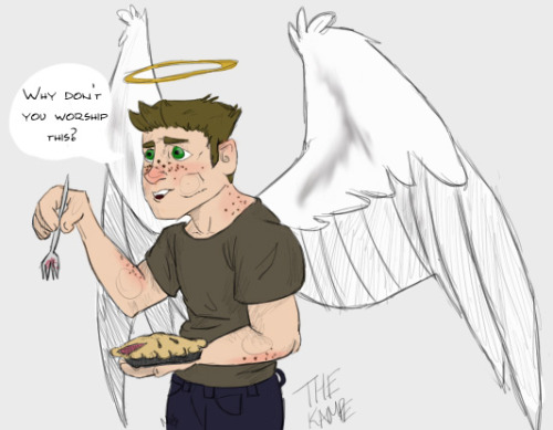thekampe:  I'm really excited for Reverse!verse Angel!Dean in My Bloody Valentine