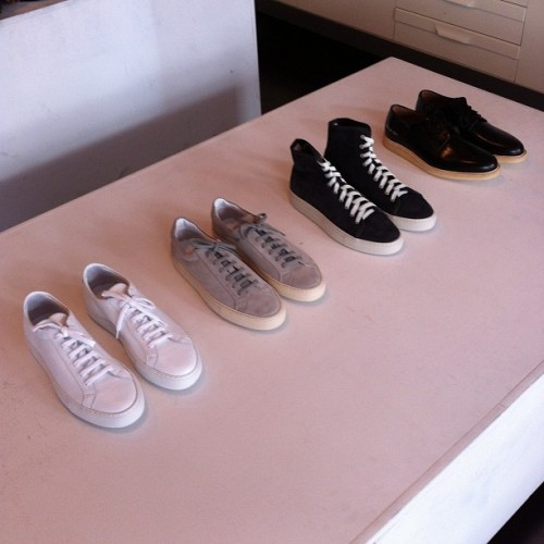 They're here… #CommonProjects #ss13 #menswear #madeinItaly (at Four Horsemen Shop)