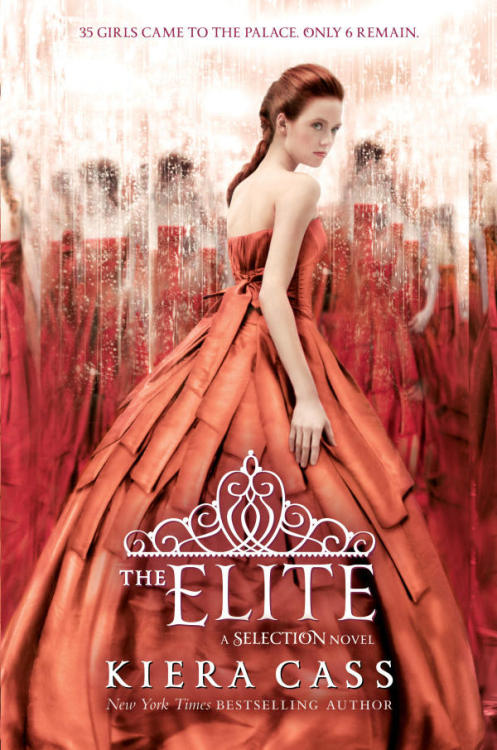 The Elite by Kiera Cass (This review contains a few mild spoilers)  Let me just begin this review saying that I don't complain about books often, most of the books I read are really good and I only ever have like minor issues. I waited ten months for this book. I drove an hour away to buy it. Took money out of my Disney fund to pay for it. And I pulled an all-nighter to read it. And it was definitely not worth it. Oh man.   The whole book was just like many giant circles with a few tidbits and answers thrown in. It was seriously a waste of a good hundred or so pages.  This book pretty much picked up where the last one left off. Maxon has picked his Elite and America is still trying to decide between him and Aspen. She basically spends most of the book making up her mind and then changing it and asking for more time to decide. All of the characters basically lost who they were. (Except perhaps Marlee and Celeste) and like. Oh. Wow. My feels have been brutally murdered. I was so excited for this book and SO LET DOWN.  NO ONE and I mean NO ONE is who they were in the first one. They took away practically all of America's fire. All of Aspen's fight (except for the little bit that was obnoxious and annoying) and all of Maxon's innocence. So, in the midst of trying to decide if she wants Maxon or Aspen…. America finally takes a stand against what's going on with the caste system and how messed up it is. And then… Wait for it…. CHANGES HER MIND AND REGRETS THE WHOLE THING. *smacks head against wall* Okay, lets end this with some of the things I DID like. 1. America's father. 2. The dresses. 3. America's maids. 4. The dresses. 5. The Italian's (the only people doing it right) And yeah, that's about all.   I'd love to say more but I really don't want to spoil the entire book! Everyone reads things differently and this was just not a good book for me. But hey! Maybe you liked it! I'd love to hear your thoughts! You can message me here  or here.