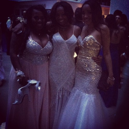 The girls #prom #2013 @isalarayann @_kingleah