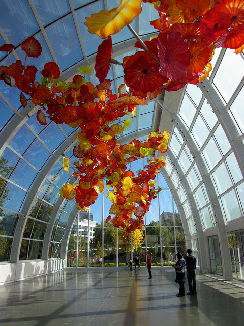 visitheworld:  Chihuly Garden and Glass Museum in Seattle, USA (by JessyeAnne).