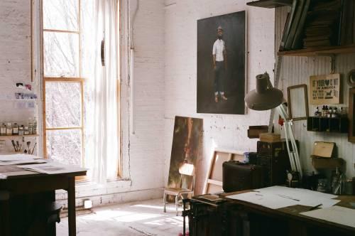mpdrolet:  Oliver Jeffers' Studio Richard Gilligan