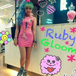 meat3d:  Can't get enough of this MEAT BABE @rubyrubygloom #meatbabe #meatclothing #rubygloom #rubber #latex
