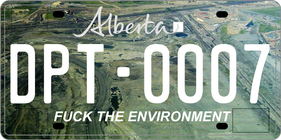 Rejected Alberta License Plate Ideas