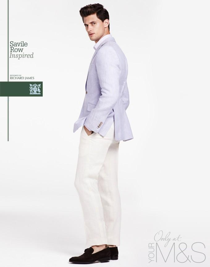 Garrett Beff for Richard James for Marks&Spencer Spring-Summer 2013