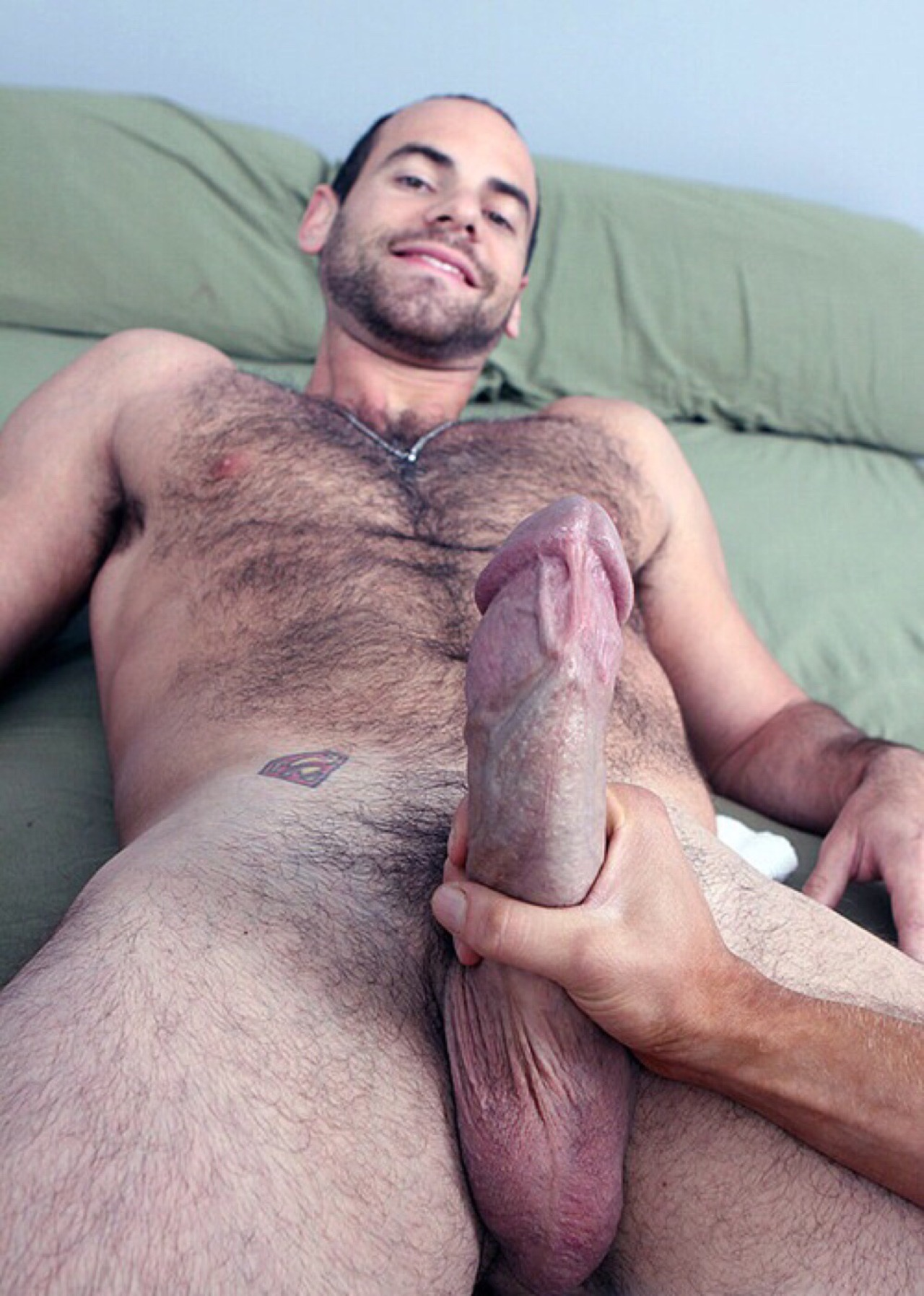 Big hairy daddy cock