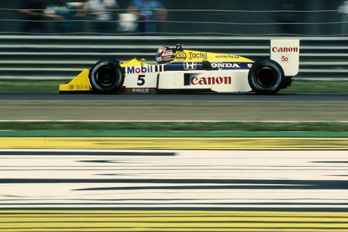 Nigel Mansell  Williams - Honda 1987