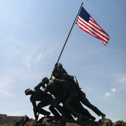 My 2nd favorite memorial (at US Marine Corps War Memorial (Iwo Jima))