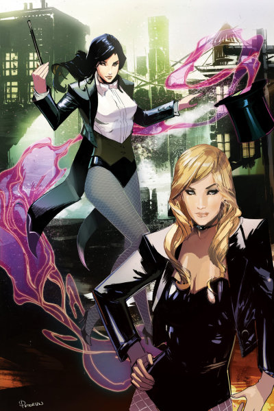 comic-jazz:  Zatanna & Black Canary by ink4884
