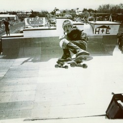 From the first issue of @transworldskate: Palmdale, 1981. Photo: Neil Blender tonyhawk, instagram.com
