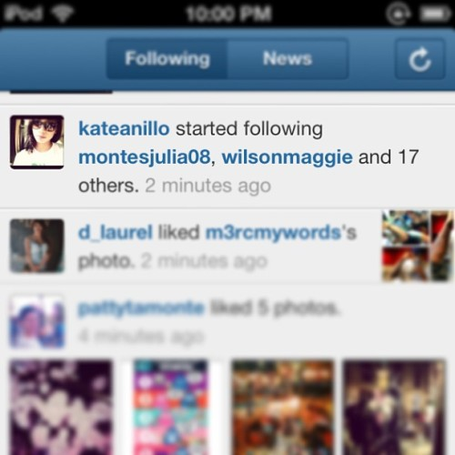 Following galore @kateanillo ?? 😂😂😂