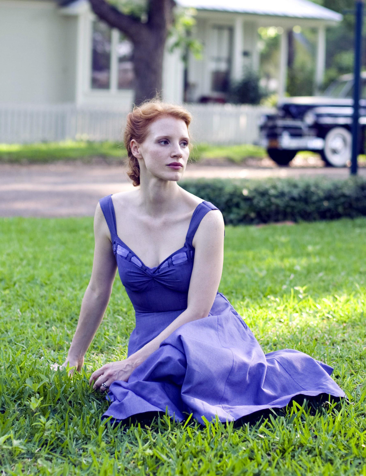 Jessica Chastain in The Tree of Life