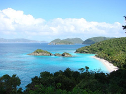 extremelywonderfulplaces:  Trunk Bay, US Virgin Islands