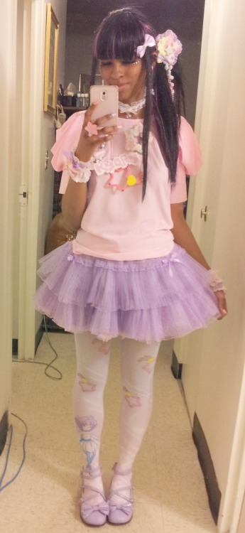 sanriopalace:  What I wore to Kyary's concert. <3