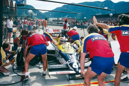 Nelson Piquet  Williams - Honda 1987