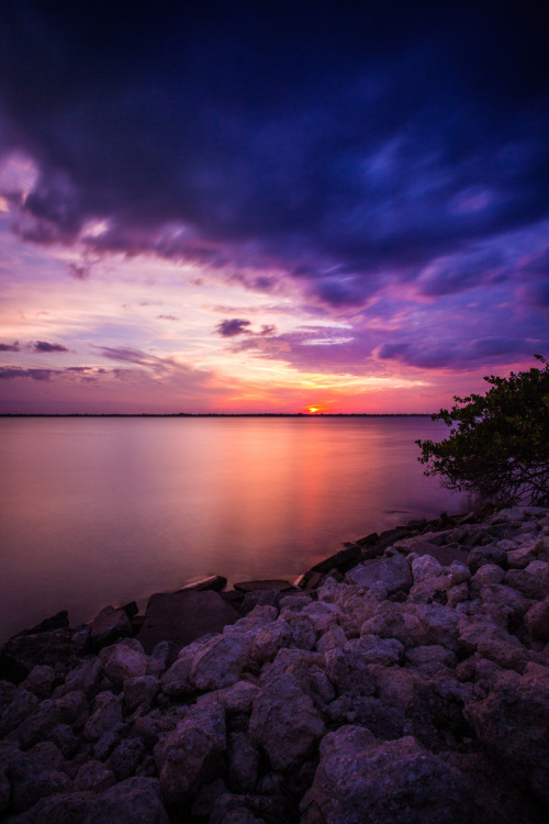 llbwwb:   Fort Pierce Sunset (by cmav)