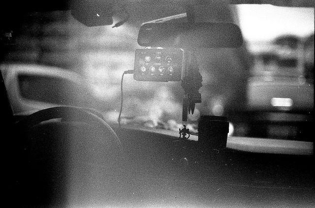 In my brother's car on Flickr.Nikon FE, Arista EDU Ultra 200@400