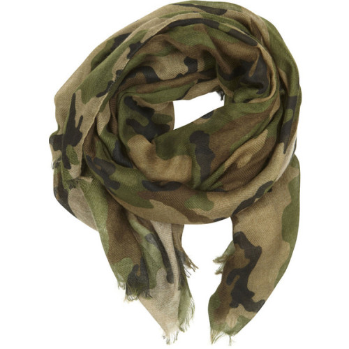 VILA scarve   ❤ liked on Polyvore (see more fringe scarves)