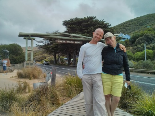 Out on the Great Ocean Road with mom, which is one of the most beautiful coastal drives in the world and I've done it twice in the past month.  On the first trip, I kept thinking how nice it would be as a romantic journey with a loved one.  I wasn't picturing mom at that time although this is not the first romantic journey we've been on together.  I will never forget Positano on the Amalfi Coast.  Both of us were having a blast, while everyone around us was on their honey moon.  Both mom and I were both in new relationships and had left our new partners back home.  It was quite hilarious, although frustrating at times.  This time around everything seems perfectly as it was meant to be.  The timing is perfect and both of us are ecstatic to be exactly where we are, as we are.  Each day we have some new adventure, never knowing what lies around the corner.  Yesterday's big surprise was the Rip Curl Pro Tour Surfing Competition on the epic waves of Bell's Beach, Victoria, just at the beginning of our Great Ocean Road adventure.  Then after a full day of driving, we settled into the cute little fishing village of Apollo Bay.  Just before sunset, we shared a beautiful walk along the abandoned beach; laughing all along the way.  Once again, I feel so grateful to share these special moments with my wonderful mother.  We really are great travel companions and I sharing this time with her is absolutely devine! Love & Light, RYAN!