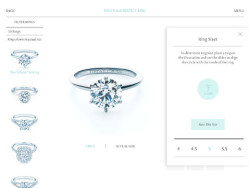 popover on Tiffany & Co. Engagement Ring Finder