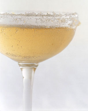epicurious:  Sparkling Ginger Cocktails (Gourmet, December 2007) Spice it up tonight!