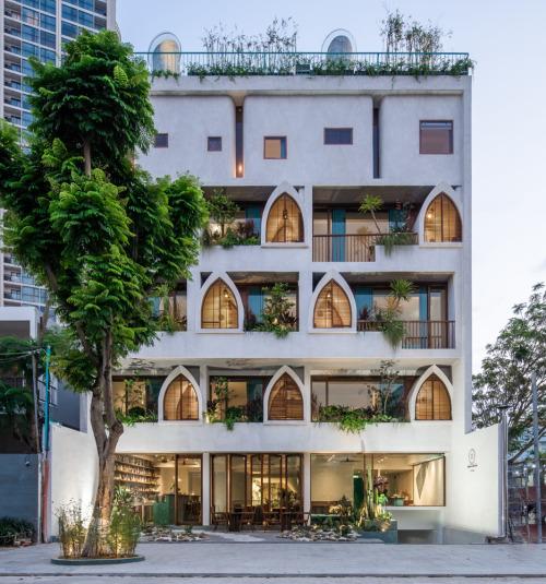 Hotel Le Bouton, Vietnam / D1 Architectural Studiov [935 x 1000] #architecture#design#awesome