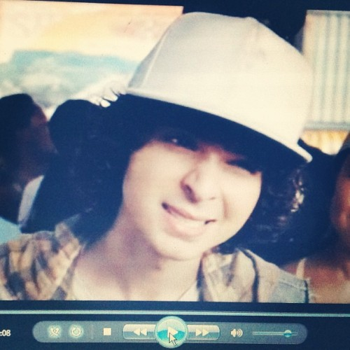 """Why not Moose?"" #AdamSevani #StepUpRevolution #movienight with @halesunshine"