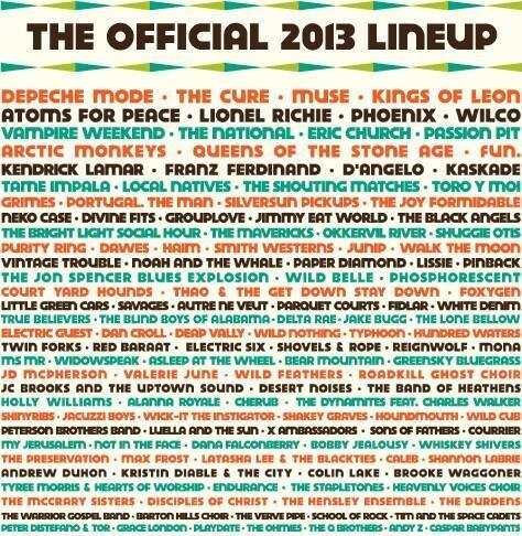 Vampire Weekend are playing Austin City Limits Music Festival 2013!   :D!!