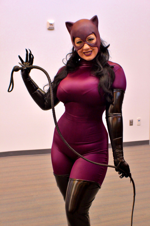 Bellechere's Jim Balent-inspired Catwoman, also from Big Wow. (by RyC - Behind The Lens)