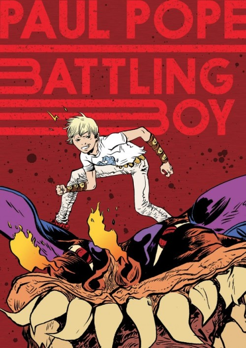 destroycomics:  Paul Pope's BATTLING BOY! Share this with everyone you can.  Oh! I'mma read this! When can I have this?