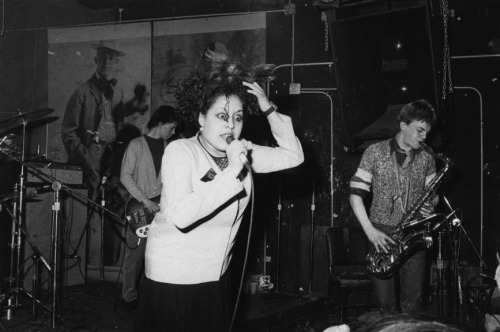 poguemah0ne:  X-Ray Spex at CBGB's, New York. March 1978.