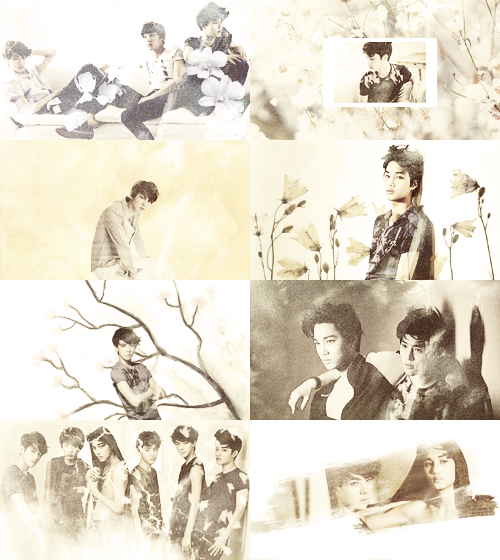 baekes:  favorite photoshoot | exo - k - requested by sehunwifey