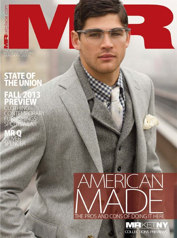 MR Magazine - January 2013 Cover
