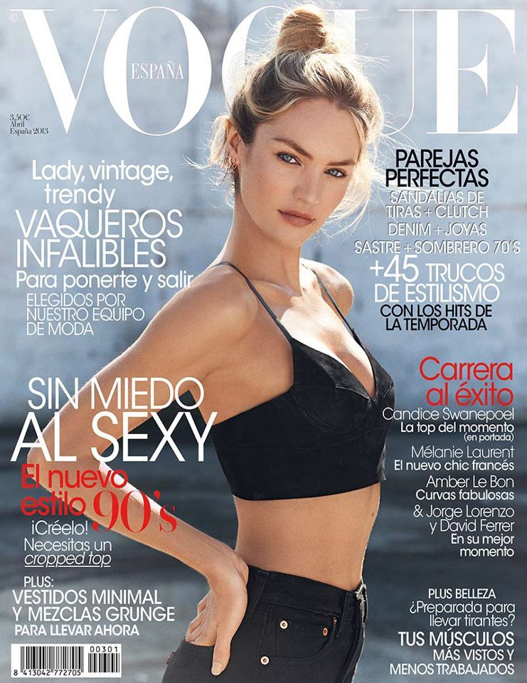 Candice Swanepoel, Vogue Spain, April 2013