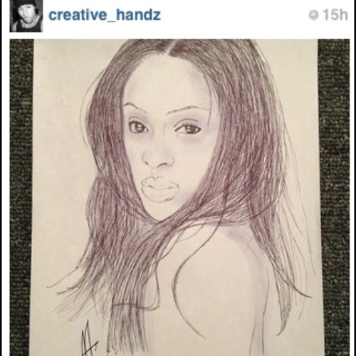 #repost #tdot #talent #portrait follow @creative_handz