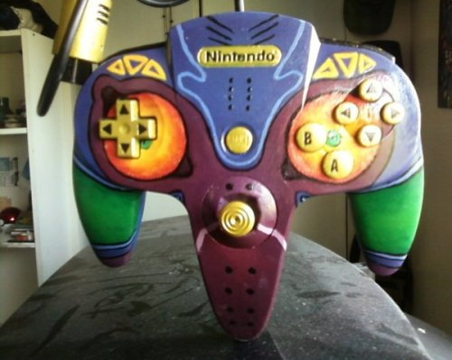dorkly:  Majora's Mask N64 Controller Your controller has met with a terrible fate, hasn't it?