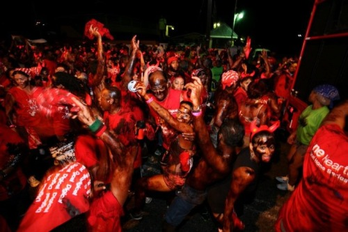 """allwestindianeverything: """""""" J'ouvert (pronounced """"Jou-vay"""") is derived from French patois and means 'daybreak'. Jouvert marks the official start of the two day carnival celebrations in Trinidad & Tobago. It usually officially commences at 4:00 a.m...."""