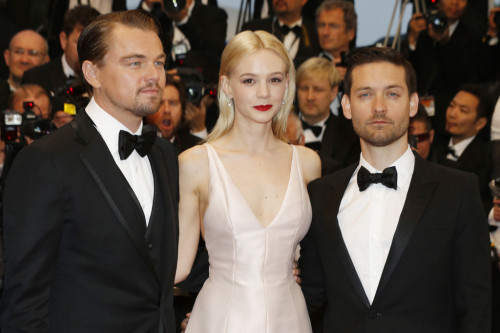 Leonardo DiCaprio, Carey Mulligan and Tobey Maguire  || Opening Ceremony and 'The Great Gatsby' Premiere during the 66th Annual Cannes Film Festival on May 15th 2013
