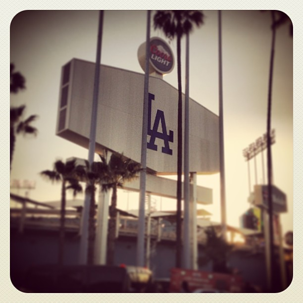 Viva Los Doyers (at Dodger Stadium)