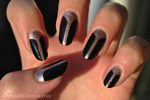 unhasgatas:  Jenn's Nails | via Tumblr on We Heart It - http://weheartit.com/entry/55509754/via/marynaoliveira