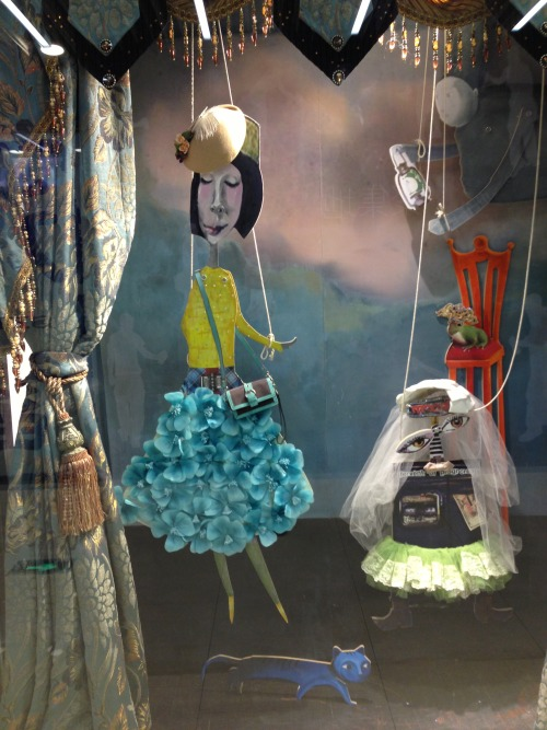 We're in love with this quirky puppet inspired VM we spotted at Momo.  WGSN, Shanghai