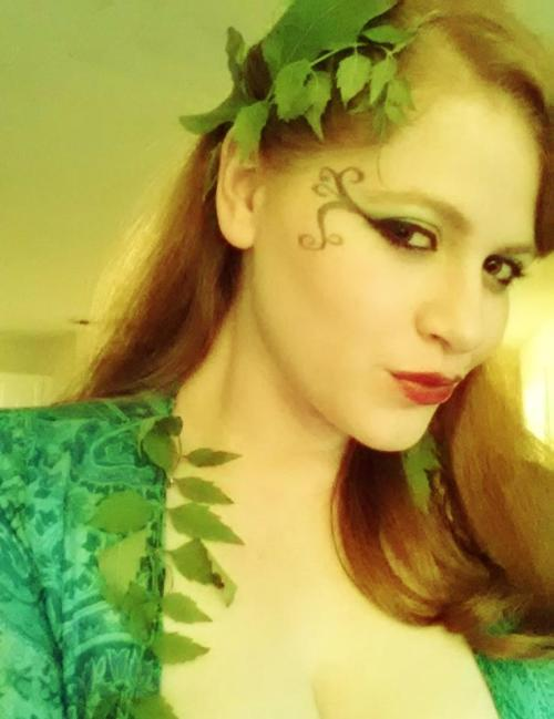 simple Poison Ivy look by therealgingerjedi Submitted by therealgingerjedi
