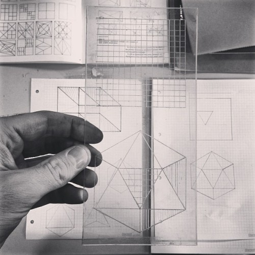 :::: lost-bound:  #etching #geometry #illustration