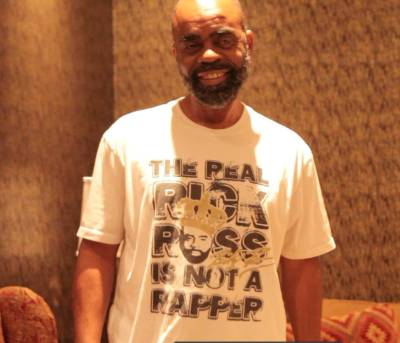 "After interviewing THE REAL Freeway Rick Ross for my documentary ""Crack Capitalism"""