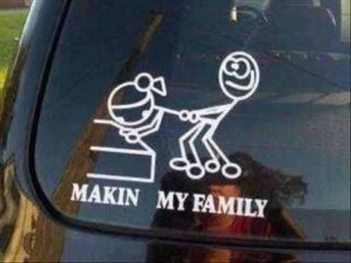 Now that's a bumper sticker! Lol