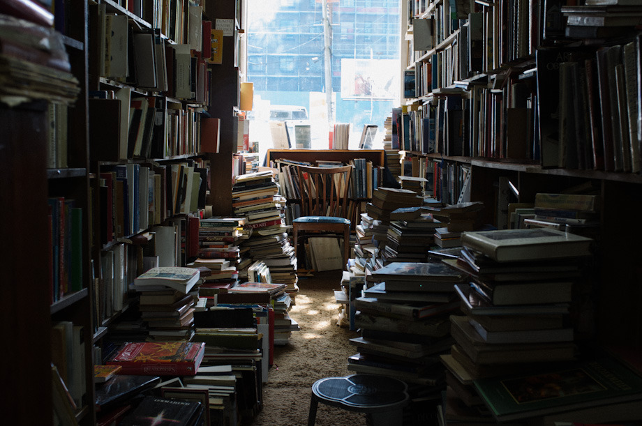 There's something that's full of character about a bookstore that's just so bursting at the seams with books that they're strewn all over the place in what seems like an organized mess. Do yourself a favor… if you're ever in Vancouver, or are local, skip past the big chain bookstore store or log off your e-reader and spend a day getting lost, literally and figuratively, at MacLeod's Books.
